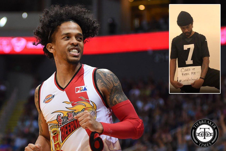 Tiebreaker Times George Floyd incident hits home for Chris Ross Basketball News PBA  PBA Season 45 Harvey Carey Gabe Norwood Chris Ross