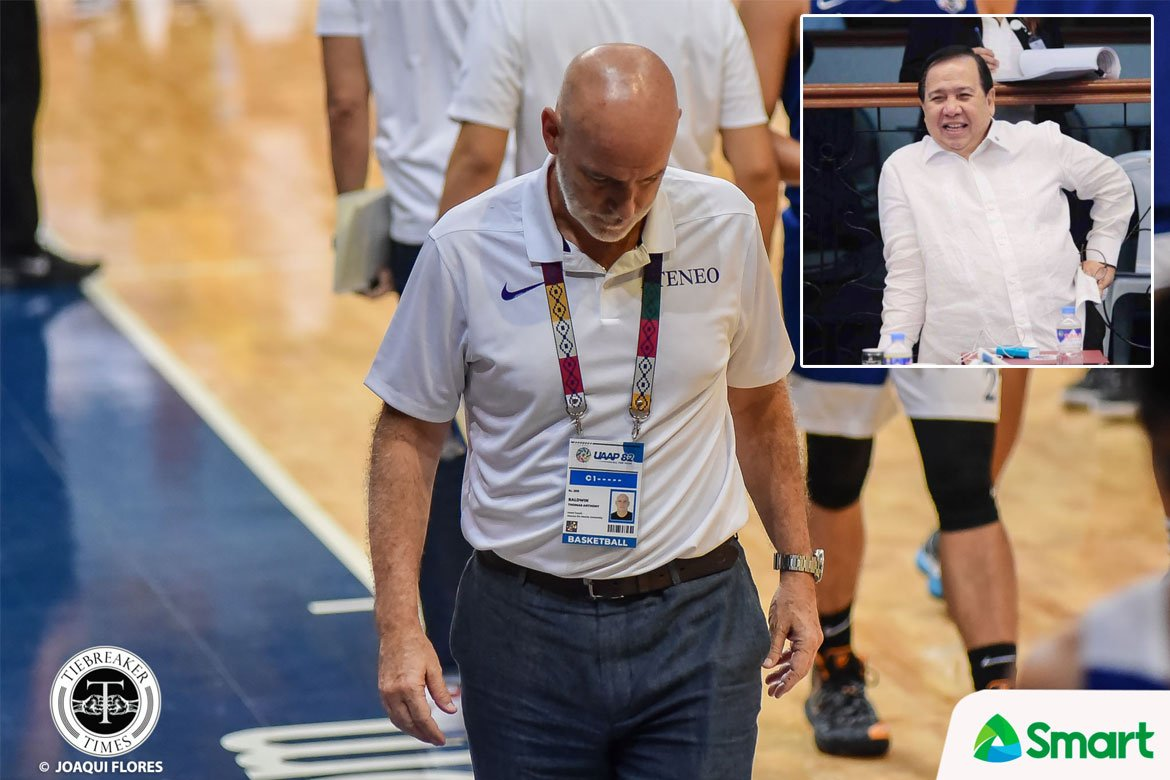 Tiebreaker Times Sen. Gordon says PBA decision to punish TNT asst Baldwin 'uncalled for' Basketball News PBA  TNT Katropa Tab Baldwin PBA Season 45 Dick Gordon