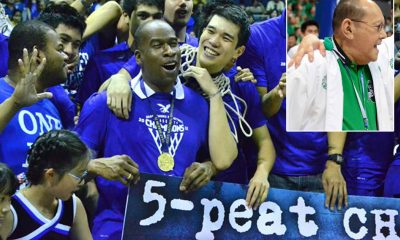 Tiebreaker Times 'Blue-blooded' Norman Black says ECJ never took Ateneo-La Salle rivalry personally ADMU Basketball DLSU News UAAP  Norman Black Eduardo Cojuangco Jr. DLSU Men's Basketball Ateneo Men's Basketball