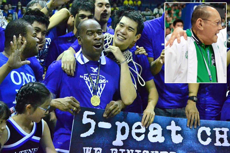 Tiebreaker Times 'Blue-blooded' Norman Black says ECJ never took Ateneo-La Salle rivalry personally ADMU Basketball DLSU News UAAP  Norman Black Eduardo Cojuangco Jr. DLSU Men's Basketball Ateneo Men's Basketball