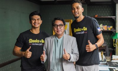 Tiebreaker Times Kiefer Ravena, Gabe Norwood keep healthy as they wait for PBA return Branded Content News  Ronald Mascarinas Kiefer Ravena Gabe Norwood Chooks-to-Go