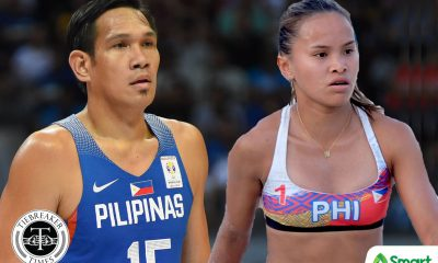Tiebreaker Times Sisi Rondina and June Mar Fajardo are cousins? Basketball Beach Volleyball BVR News PBA  San Miguel Beermen PBA Season 45 June Mar Fajardo Creamline Cool Smashers Cherry Rondina 2020 BVR Season