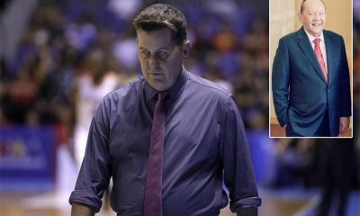 Tiebreaker Times ECJ passing marks 'passing of an era', says Tim Cone Basketball News PBA  Tim Cone PBA Season 45 Eduardo Cojuangco Jr.