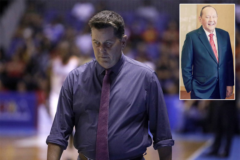 Tiebreaker Times ECJ passing marks 'passing of an era', says Tim Cone Basketball News PBA  Tim Cone PBA Season 45 Eduardo Cojuangco Jr.