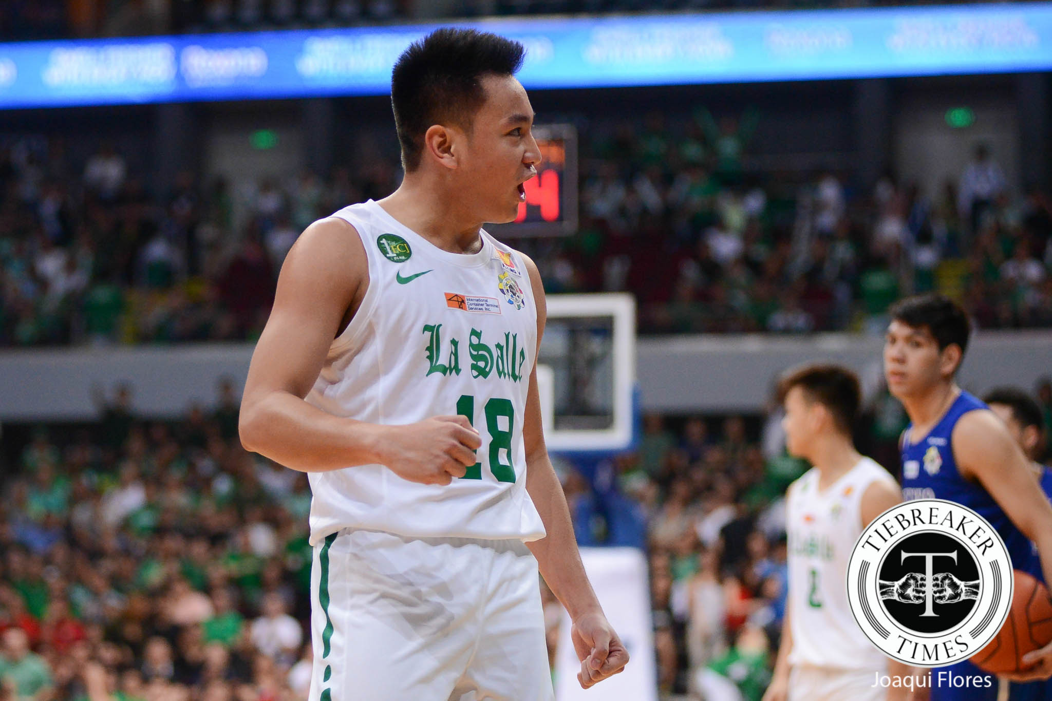 UAAP-79-DLSU-vs.-ADMU-Torres-0573 Ben Mbala looks back on epic alley-oop from Torres: 'It was a bad pass' Basketball DLSU News UAAP  - philippine sports news