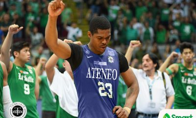 Tiebreaker Times Ben Mbala's first choice was Ateneo, has no regrets with La Salle ADMU Basketball DLSU News UAAP  UAAP Season 79 Men's Basketball UAAP Season 79 Kiefer Ravena DLSU Men's Basketball Ben Mbala Ateneo Men's Basketball