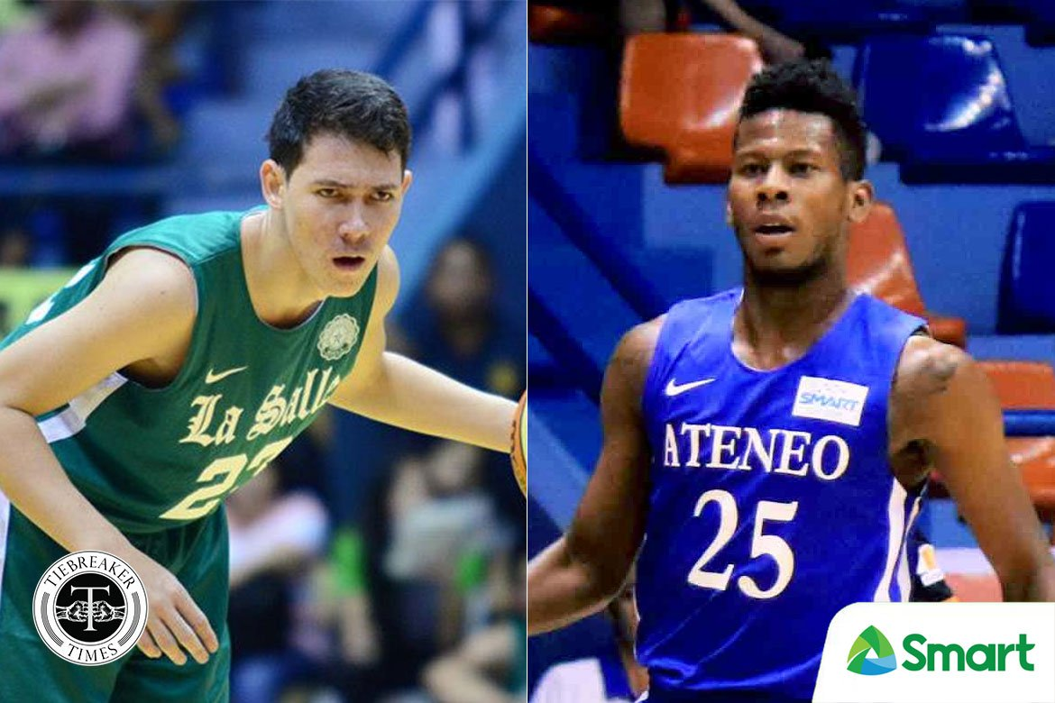 Tiebreaker Times Robert Bolick, CJ Perez almost became teammates twice ADMU Basketball DLSU News  Robert Bolick DLSU Men's Basketball CJ Perez Ateneo Men's Basketball