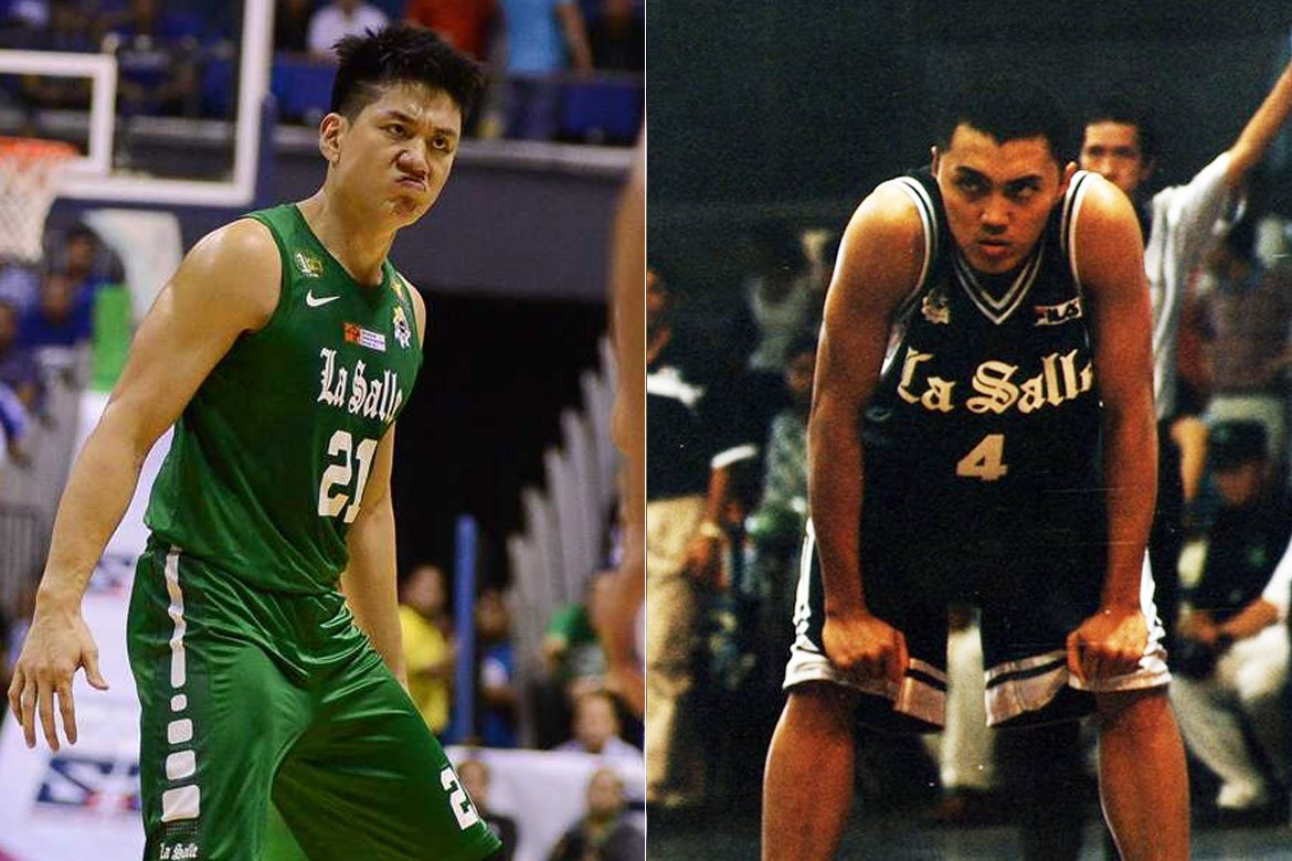 Tiebreaker Times Jeron Teng grateful to have had Renren Ritualo as mentor in Xavier, La Salle Basketball DLSU News UAAP  Renren Ritualo Jeron Teng DLSU Men's Basketball