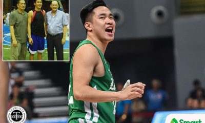 Tiebreaker Times Kib Montalbo looks back on how ECJ swayed him to pick DLSU over Ateneo Basketball DLSU News UAAP  Kib Montalbo Eduardo Cojuangco Jr. DLSU Men's Basketball