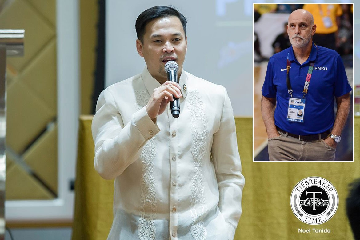 Tiebreaker Times Mikee Romero says 'guest' Tab Baldwin has no right to question PBA format Basketball News PBA  Tab Baldwin PBA Season 45 Mikee Romero