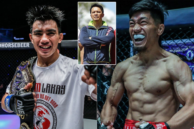 Tiebreaker Times How open is Mark Sangiao to potential Pacio - Adiwang clash? Mixed Martial Arts News ONE Championship  Team Lakay Mark Sangiao Lito Adiwang Joshua Pacio