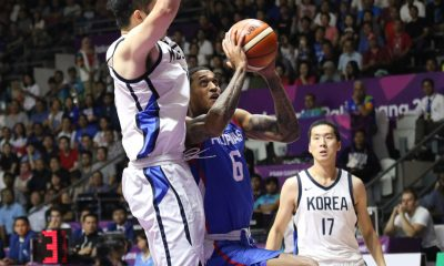 Tiebreaker Times South Korea not scared of Gilas -- even with Clarkson, says Ratliffe Basketball Gilas Pilipinas News  South Korea (Basketball) Ricardo Ratliffe Jordan Clarkson 2018 Asian Games
