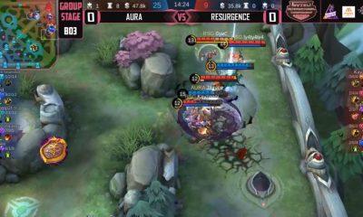 Tiebreaker Times Aura PH splits opening assignments in Mytel International ESports Mobile Legends News  Resurgence Rafflesia Killuash Jaypee Greed_ Geek Fam Indonesia Aura PH 2020 Mytel International Championship