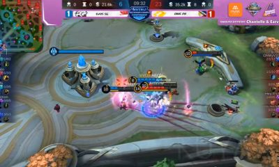Tiebreaker Times Basic sensational in debut, tows ONIC PH to second phase of Mytel playoffs ESports Mobile Legends News  ONIC PH OhMyV33NUS Jay Iy4knu EVOS Singapore Dlar Basic 2020 Mytel International Championship