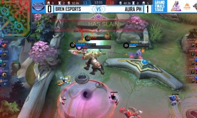 Tiebreaker Times Aura PH eliminates BREN Esports from Mytel International ESports Mobile Legends News  Ribo Rafflesia Pheww Killuash Kielvj Jaypee Greed_ Flaptzy BREN Esports Aura PH 2020 Mytel International Championship