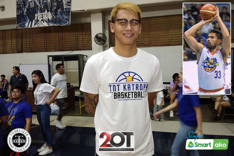 Tiebreaker Times RDO to Poy Erram: 'Ikaw ang pag-asa ng TNT' Basketball News PBA  TNT Katropa Ranidel De Ocampo PBA Season 45 JP Erram