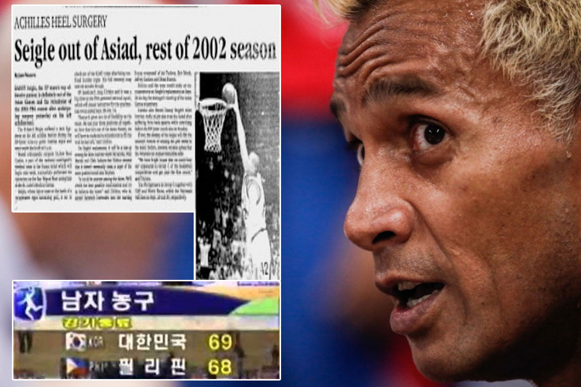 Tiebreaker Times Asi Taulava will never forget time Danny Seigle tore Achilles before Asiad Basketball Gilas Pilipinas News  Danny Seigle Asi Taulava 2002 Asian Games