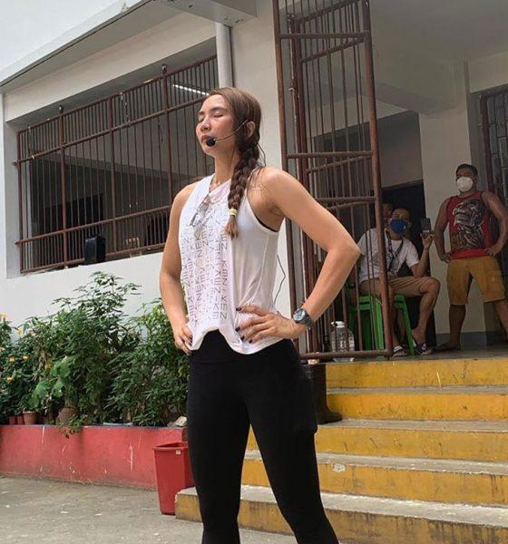 Tiebreaker Times Rachel Daquis leads Pasig's exercise program for COVID-19 patients News PSL Volleyball  Vico Sotto Rachel Daquis Coronavirus Pandemic 2020 PSL Season