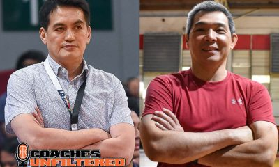 Tiebreaker Times Franz Pumaren on long-time assistant Jack Santiago: 'I'm looking forward to face him' AdU Basketball News UAAP  UAAP Season 83 Men's Basketball UAAP Season 83 Jack Santiago Franz Pumaren Adamson Men's Basketball