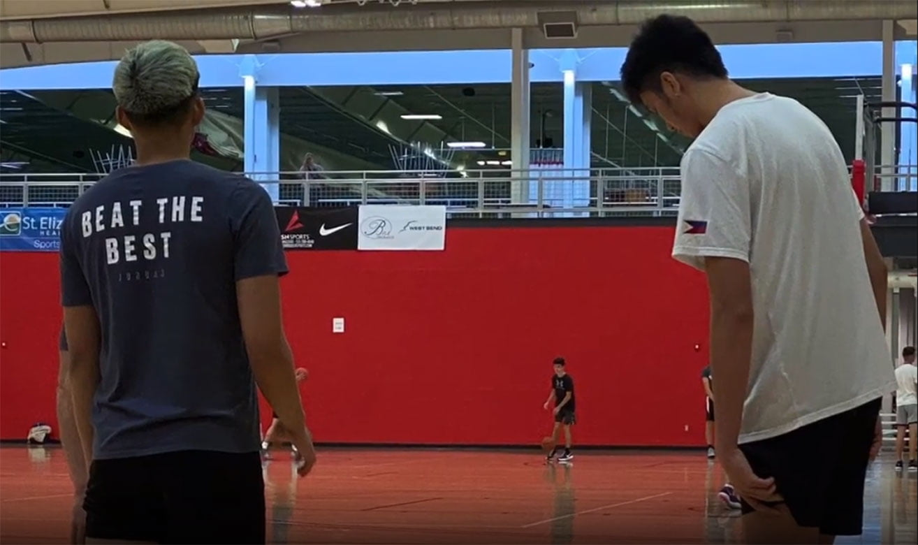 Tiebreaker Times Kai Sotto helping Cholo Anonuevo get acclimated in US Basketball News  Kai Sotto East West Private Cholo Anonuevo