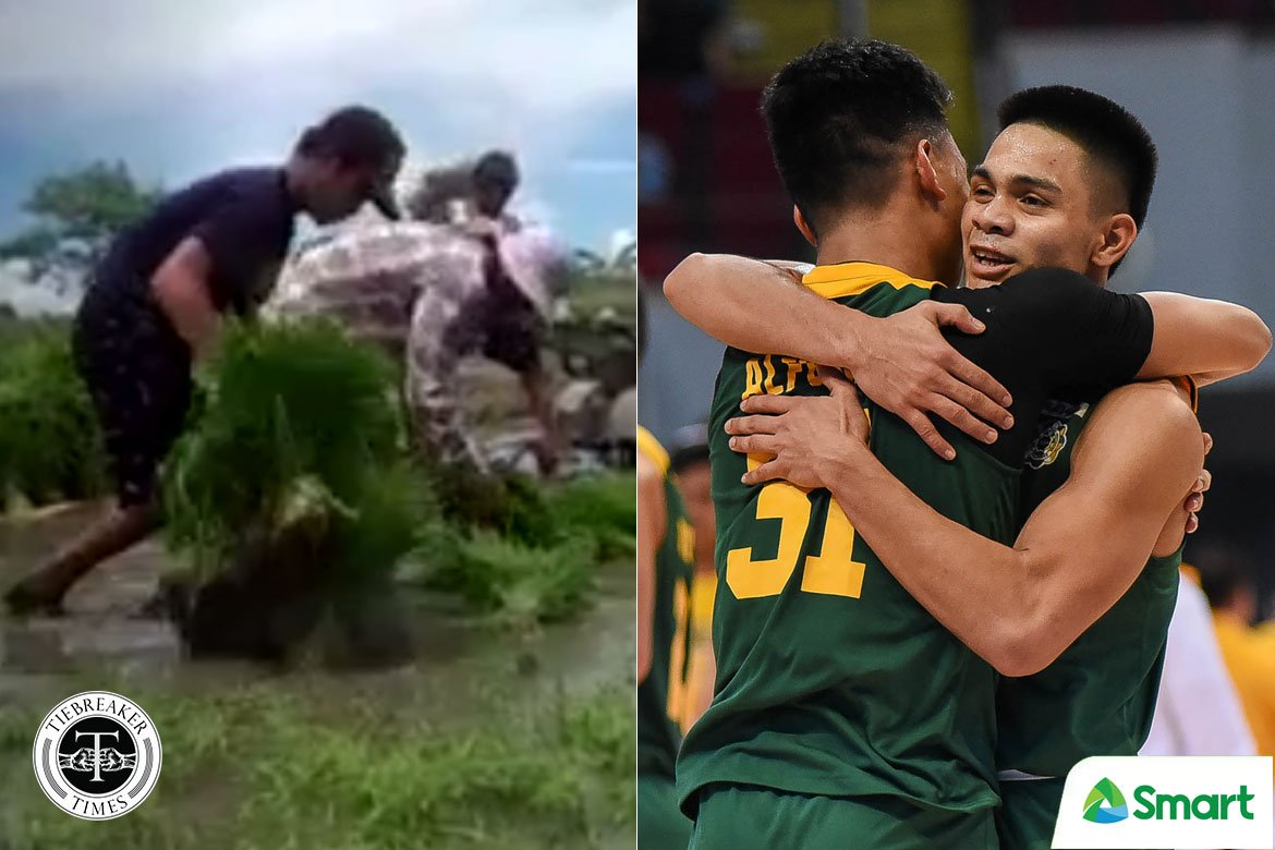 Tiebreaker Times Tilling the Fields: How L-Jay Gonzales embraces breadwinner role at young age Basketball FEU News  L-Jay Gonzales FEU Men's Basketball Coronavirus Pandemic