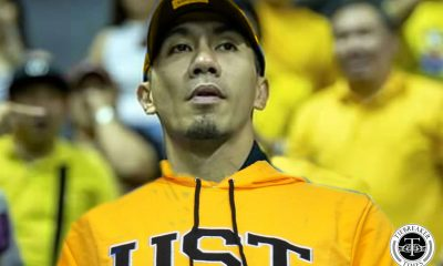 Tiebreaker Times LA Tenorio's dream school was UST ADMU Basketball News UAAP UST  UST Men's Basketball UAAP Season 65 Men's Basketball UAAP Season 65 LA Tenorio Ateneo Men's Basketball