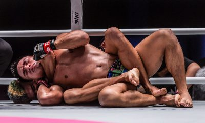 Tiebreaker Times Fil-Kiwi Mark Abelardo put to sleep during ONE: No Surrender Mixed Martial Arts News ONE Championship  ONE: No Surrender Mark Abelardo Fabricio Andrade