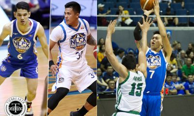 Tiebreaker Times Kevin Alas, Jericho Cruz looking at silver lining of Poy Erram trade Baseball Basketball News PBA  PBA Season 45 NLEX Road Warriors Kevin Alas JP Erram Jericho Cruz