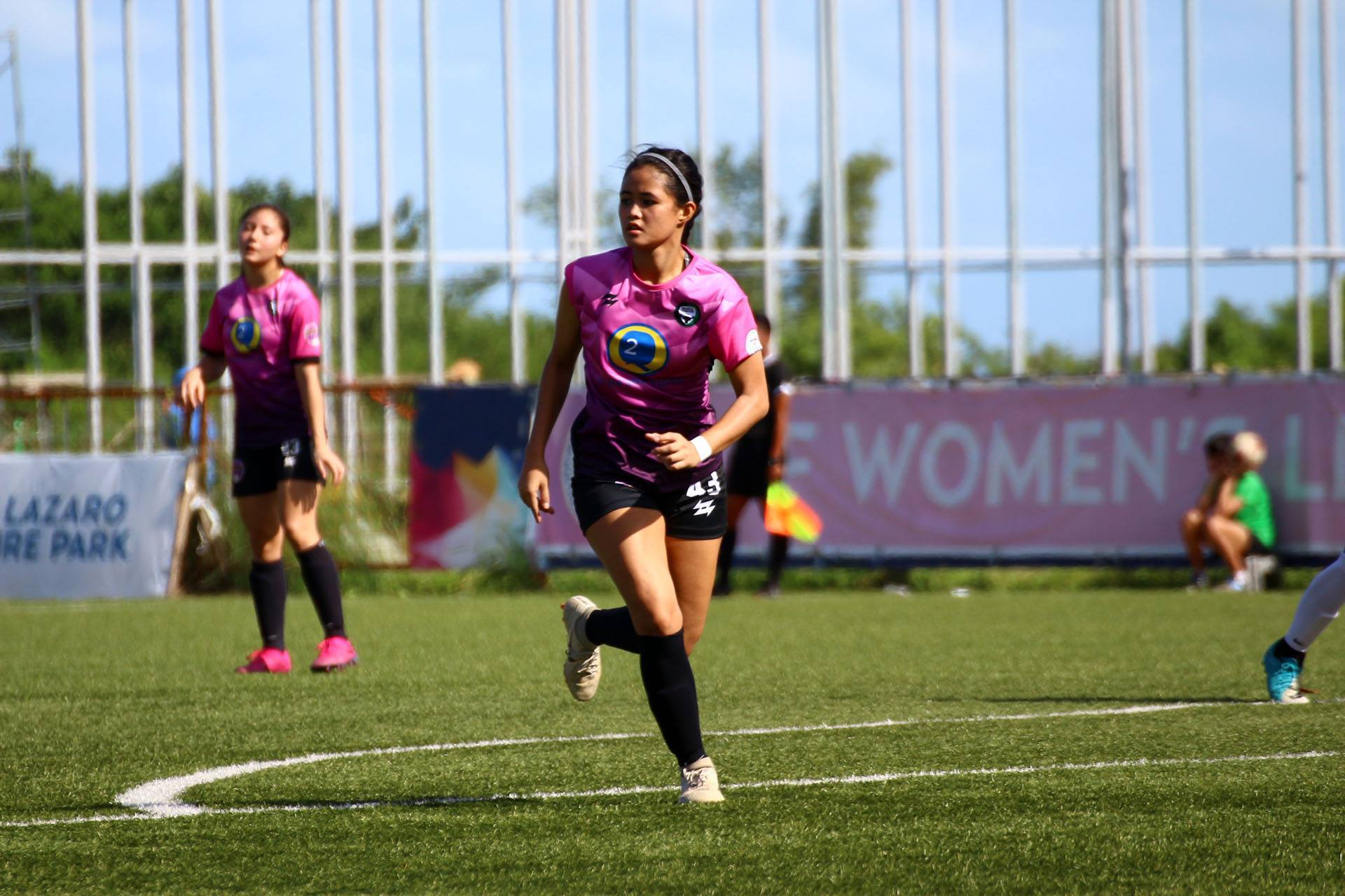 Tiebreaker Times Yana Bautista would have been one to look out for in the UAAP ADMU Football News UAAP  Yana Bautista UAAP Season 83 Women's Football UAAP Season 83 Kamea Mangrobang Jen Ariel Bob Manlulo Bethany Talbot Ateneo Women's Football