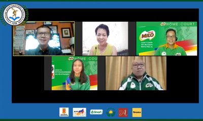 Tiebreaker Times MILO brings grassroots training online News  Philippine Sportswriters Association Forum MILO Philippines Jamie Lim Coronavirus Pandemic