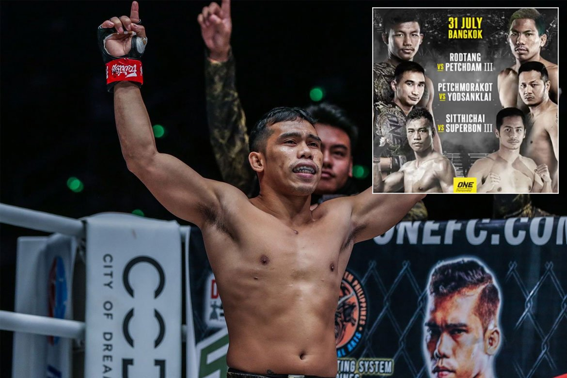 Tiebreaker Times Robin Catalan pumped for ONE: No Surrender Muay Thai News ONE Championship  Robin Catalan ONE: No Surrender Catalan Fighting Systems