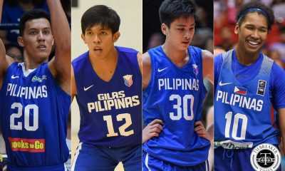 Tiebreaker Times SBP proud to see Kai, Thirdy, Jack, Tuffin carry flag in foreign leagues Basketball News  Thirdy Ravena Sonny Barrios Samahang Basketbol ng Pilipinas Ken Tuffin Kai Sotto Jack Animam Butch Antonio 2020-21 NBA G-League Season 2020-21 B.League Season 2020 University Basketball Association Season 2020 NZ NBL Season