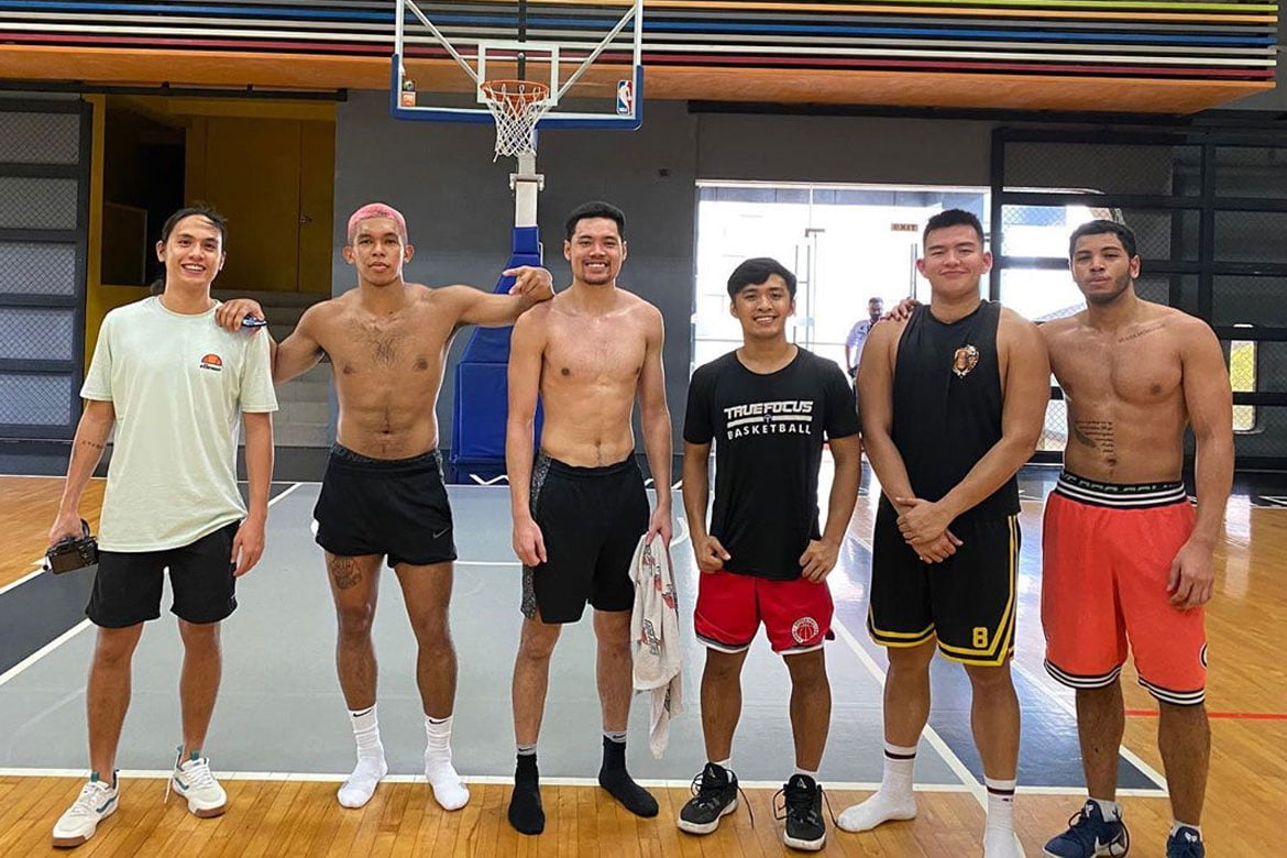 True-Focus-Thirdy-group PBA summons Aguilar, Wong, Go for playing in 5-on-5 practice Basketball News PBA  - philippine sports news