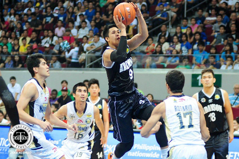 UAAP-76-NU-def-ADU-Jericho-Cruz Jericho Cruz forever grateful to 'second dad' Leo Austria AdU Basketball News PBA  - philippine sports news