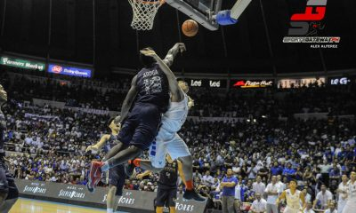 Tiebreaker Times Alfred Aroga's iconic block on Kiefer was culmination of many things Basketball News NU UAAP  UAAP Season 77 Men's Basketball UAAP Season 77 NU Men's Basketball Kiefer Ravena Alfred Aroga