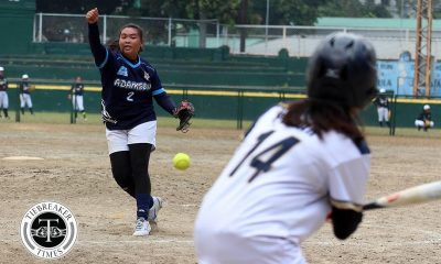 Tiebreaker Times Arlyn Bautista wants to be like Ana Santiago as Adamson career ends News Softball  UAAP Season 82 Softball UAAP Season 82 Arlyn Bautista Adamson Softball