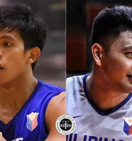 Tiebreaker Times SBP sermons Thirdy Ravena, Isaac Go for playing five-on-five Basketball Gilas Pilipinas News  Thirdy Ravena Sonny Barrios Samahang Basketbol ng Pilipinas Isaac Go Gilas Cadets