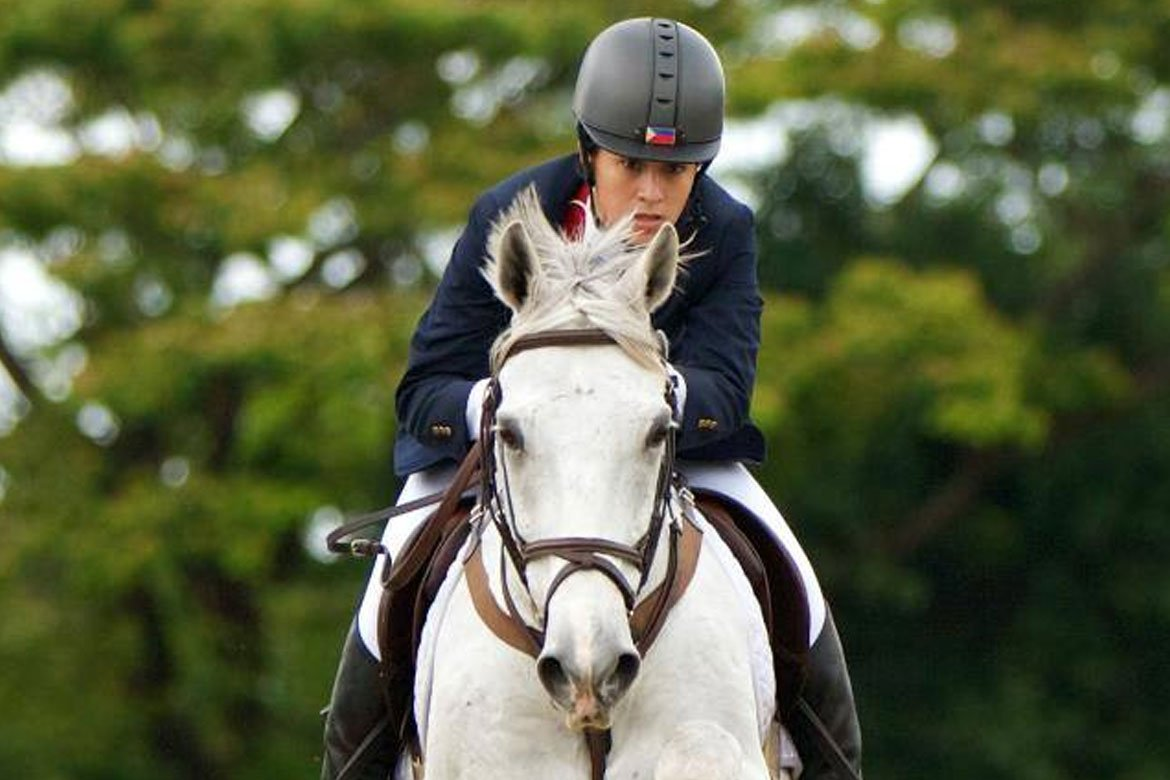 Tiebreaker Times Mikee Cojuangco shares showbiz paid for her equestrian goals Equestrian News  Mikee Cojuangco 2002 Asian Games