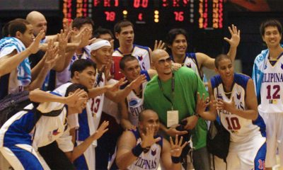 Tiebreaker Times What was the best team coached by Chot Reyes? It's not the 2013 Gilas team Basketball Gilas Pilipinas News  Tony Dela Cruz San Miguel Team Pilipinas Ranidel De Ocampo Mick Pennisi Mark Caguioa Kerby Raymundo Kelly Williams Jimmy Alapag Jayjay Helterbrand James Yap Gabe Norwood Eric Menk Dondon Hontiveros Danny Seigle Chot Reyes Asi Taulava 2007 FIBA Asia Championship