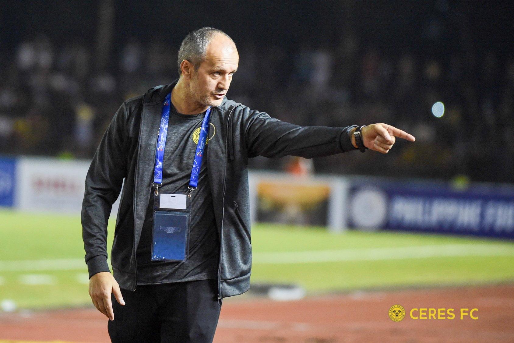 Tiebreaker Times Ceres' Risto Vidakovic announces he won't join United City Football News PFL  United City FC Risto Vidakovic 2020 PFL Season
