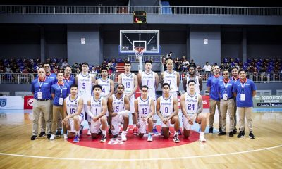 Tiebreaker Times Salud, Barrios believe Gilas should just be reinforced by PBA stars Basketball Gilas Pilipinas News PBA  Willie Marcial Sonny Barrios Gilas Pilipinas Men Chito Salud
