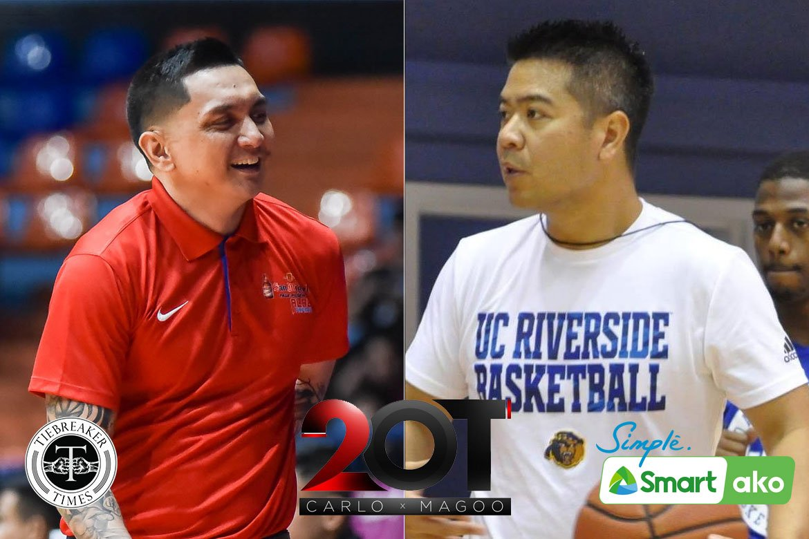 Tiebreaker Times Jimmy Alapag on Mike Magpayo: 'He's blazing a trail for all Filipino coaches' Basketball News  Mike Magpayo Jimmy Alapag