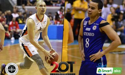 Tiebreaker Times Nico Salva wonders why Aaron Black did not get heavy minutes in Ateneo Basketball News PBA  PBA Season 45 Nico Salva Meralco Bolts Baser Amer Aaron Black