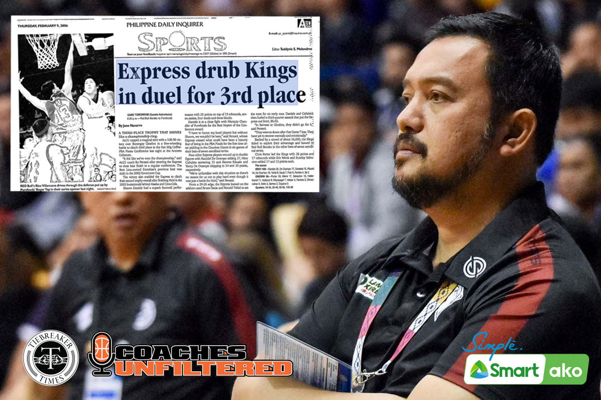 Tiebreaker Times Air21's third-place finish special for Perasol: 'That established my position as a coach' Basketball News PBA  Bo Perasol Air21 Express 2005-06 PBA FIesta Conference