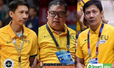 Tiebreaker Times Synergy between Allan Albano, Racela bros sustains FEU program Basketball FEU News  Olsen Racela Nash Racela FEU Men's Basketball FEU Boys Basketball Allan Albano