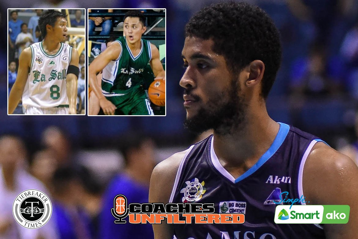 Tiebreaker Times Franz Pumaren wants Jerrick Ahanmisi to have the 'angas' of Yeo, Ritualo AdU Basketball DLSU News UAAP  UAAP Season 83 Men's Basketball UAAP Season 83 Renren Ritualo Joseph Yeo Franz Pumaren DLSU Men's Basketball Adamson Men's Basketball