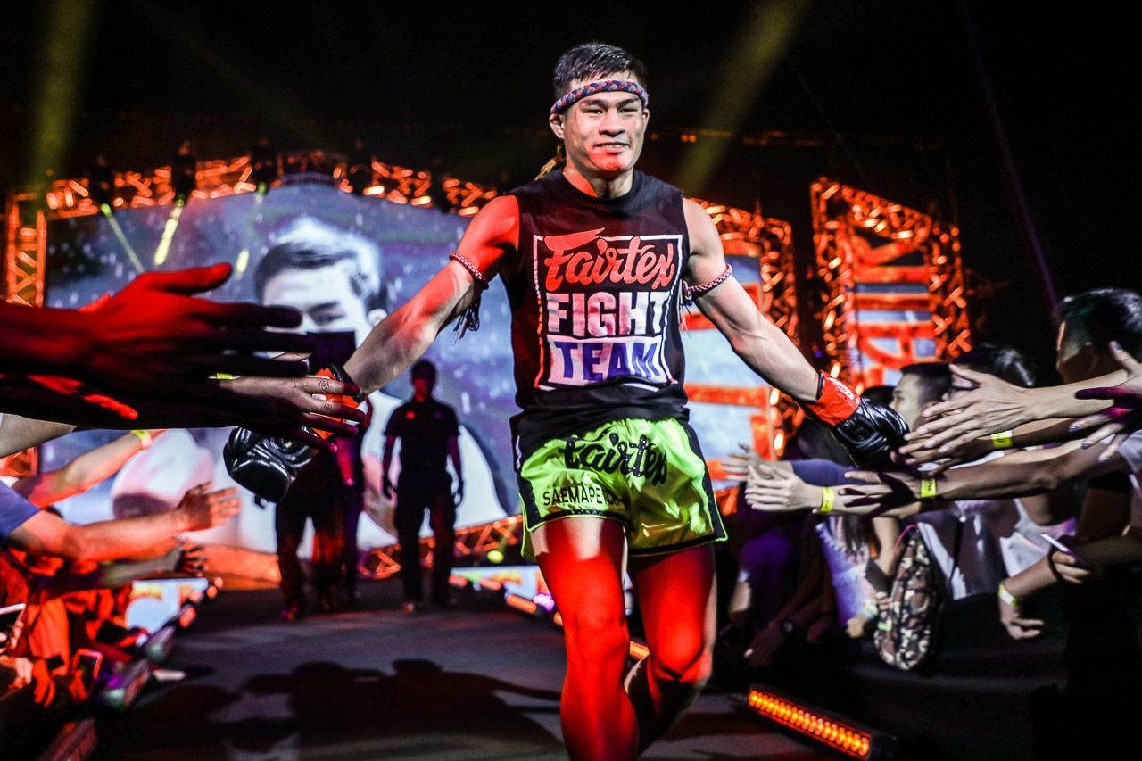 Tiebreaker Times Saemapetch has gold in mind ahead of ONE Muay Thai tourney Muay Thai News ONE Championship  Saemapetch Fairtex ONE: No Surrender