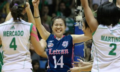 Tiebreaker Times La Salle legend Illa Santos was close to playing for Letran CSJL DLSU News Volleyball  UAAP Season 66 Women's Volleyball UAAP Season 66 NCAA Season 77 Women's Volleyball NCAA Season 77 Manilla Santos-Ng Letran Women's Volleyball DLSU Women's Volleyball