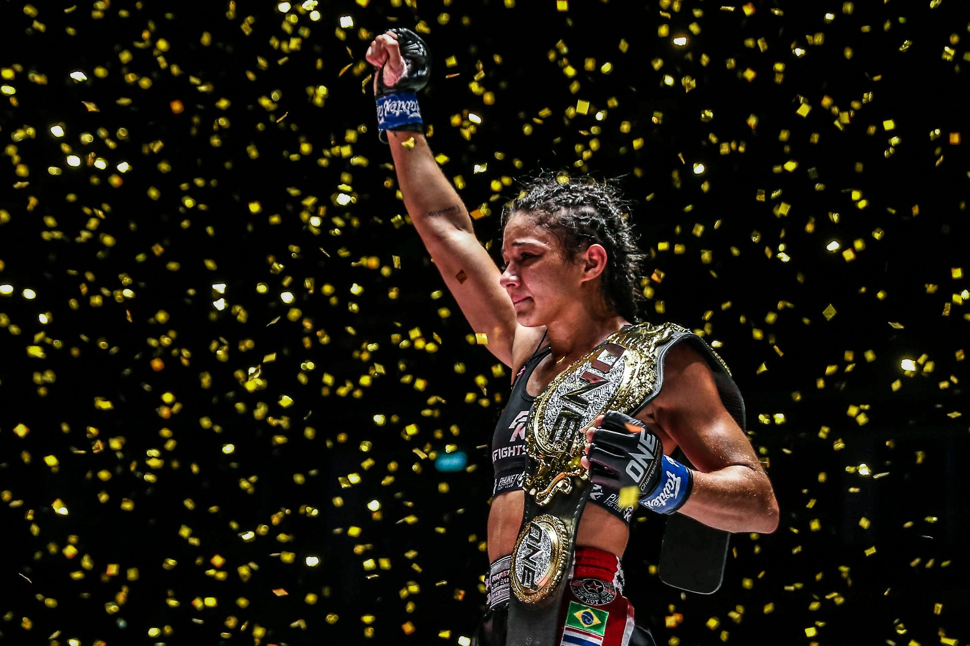 Tiebreaker Times Rodrigues stuns Stamp to win ONE title at A New Breed Muay Thai News ONE Championship  Stamp Fairtex Rodlek PK.Saenchaimuaythaigym Kulabdam Sor. Jor. Piek Uthai Allycia Rodrigues