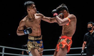 Tiebreaker Times Kulabdam sends clear message, KOs Sangmanee in ONE: No Surrender III Mixed Martial Arts Muay Thai News ONE Championship  Shannon Wiratchai Sangmanee Klong SuanPluResort Mongkolpetch Petchyindee Academy Kulabdam Sor. Jor. Piek Uthai